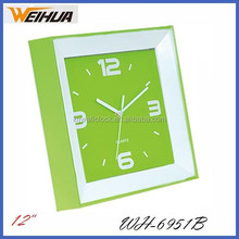 Plastic decorative kitchen 12'' musical wall clock