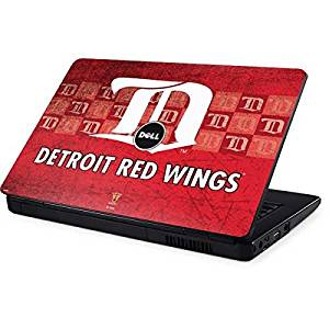 NHL Detroit Red Wings Inspiron 15 & 1545 Skin - Detroit Red Wings Vintage Vinyl Decal Skin For Your Inspiron 15 & 1545