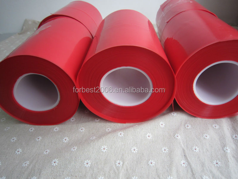 Red Teflon Fep film 0.01mm/Red sensitive film