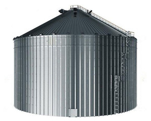 Safety Solid Galvanized Steel 2000 Ton Grain Storage Silo Price 1000T/5000T/10000T Silo Cost