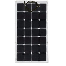 Sunpower USA semi flexible solar panel 80w for Camping Caravan and Yacht