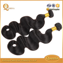 Factory price 100% raw brazilian hair extension,body wave hair extension in guangzhou remy hair market