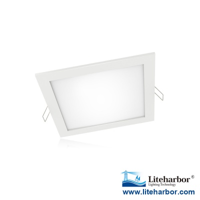 "6"" inch Square-thin LED Recessed Panel Light new design for new construction or remodel or retrofit"