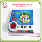 piano book book with electronic piano picture book with sound module