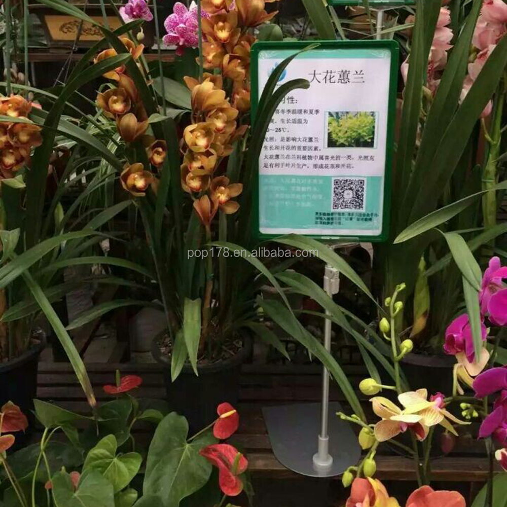 A3 A4 A5 A6 Kunststoff Plakatrahmen Stand Für Blume Geschäfte ...
