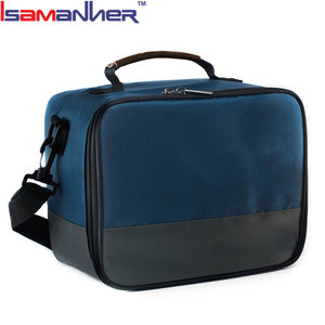 Isamanner durable 600D polyester cheap designer sports fitness meal bag