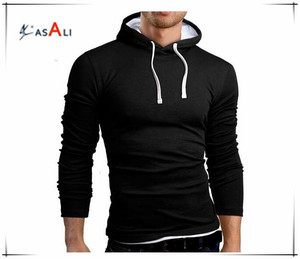 Dri fit polyester custom man hoody/2017 latest fashional slim fit custom men hoody wholesale/Plain men sweatshirt custom hoodies