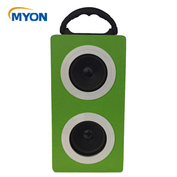 Consumer Electronics bluetooth wireless 2018 Portable Wooden Speaker with USB for new year