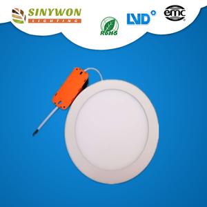 Newest leak-proof design 12w round light led panel