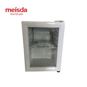 mini counter top hotel use display refrigerator commercial for cold drink