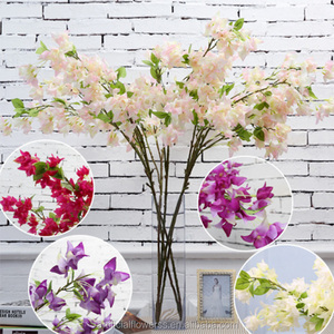 2016 high quality wholesale artificial white bougainvillea hot sale artificial flowers