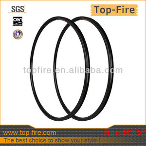 top fire new Tubular Carbon Rims 700C Road 20mm 23mm wide Bicycle Rims Clincher