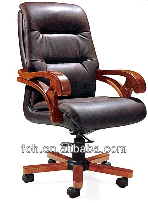 Black cow hide supreme chair executive chair(FOH-B-21)