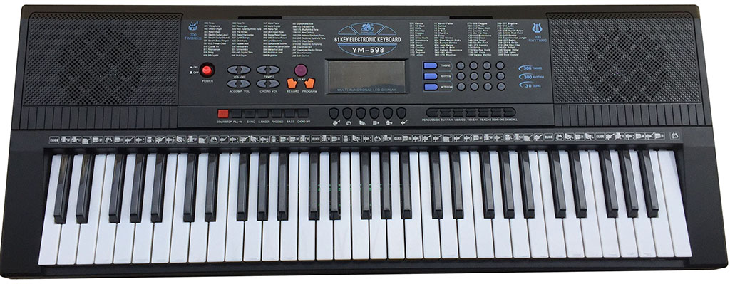 Yongmei YM-598 instrument électronique intelligent 61 touches clé de Piano adultes enfants débuts enseignement orgue électronique multifonction p