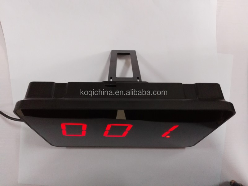 Wireless Equipment Fast food service Queue management system
