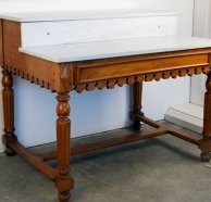 Marvelous VINTAGE FRENCH PASTRY TABLE