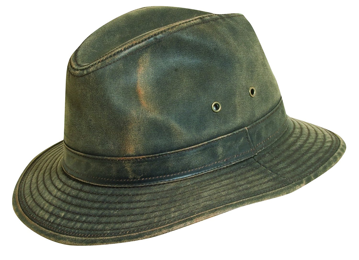 Get Quotations · Dorfman Pacific DPC Outdoor Weathered Cotton Brown Outback  Hats d4a3d112c6fc
