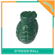 Bomb Shape Soft Reliever PU Foam Adult Stress Balls