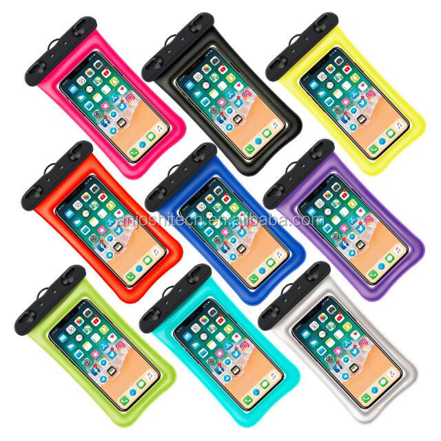 2018 Colorful Pvc Phone Cases Waterproof Pouch Bags For Iphone And Android  - Buy Waterproof Phone Case,Waterproof Bag For Phone,Phone Case Product on