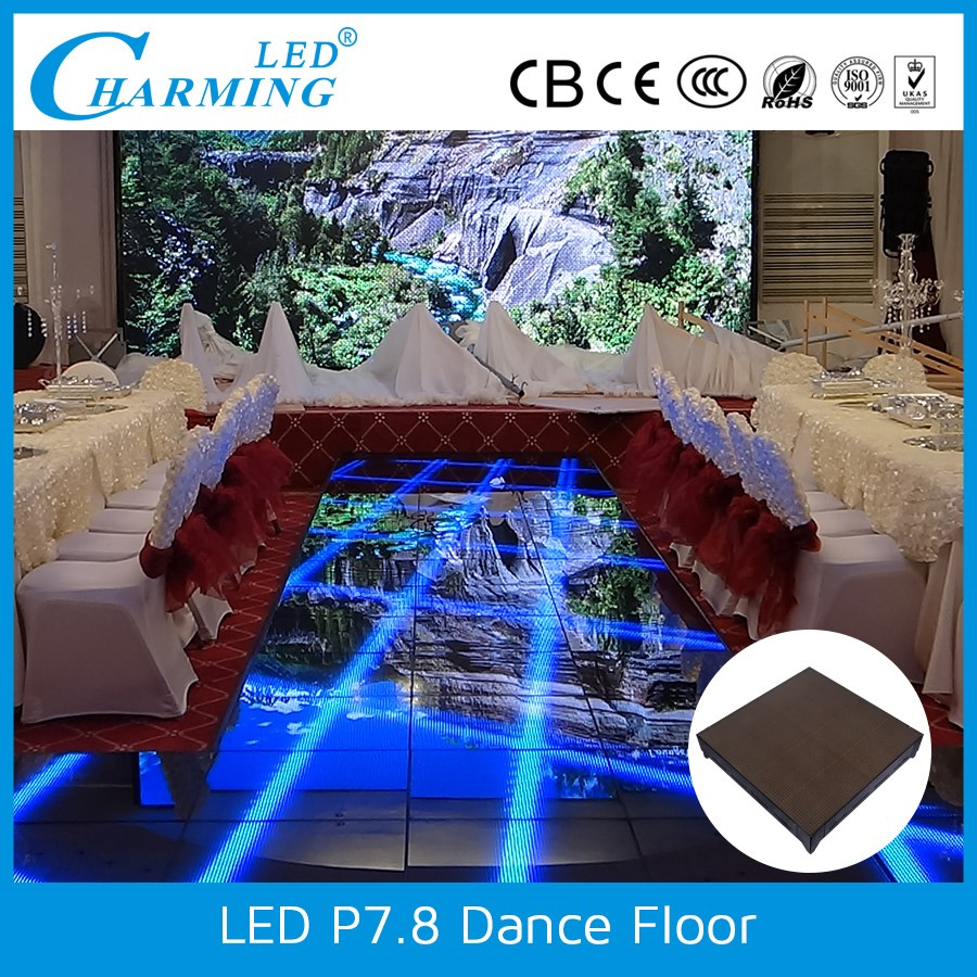 supplier for new technology intelligent magic video dance floor