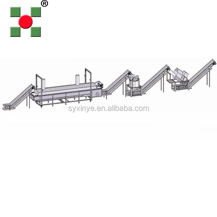 hot sale fresh potato chips processing line/frozen french fries production line