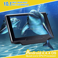10 Inch Android Rear Headrest Car DVD Monitor with 1024*600 Digital TFT Touch Screen for lexus