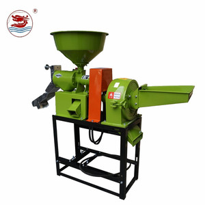 WANMA1285 Wufeng classical horizontal rice polisher single roll rice polishing machine for rice mill plant