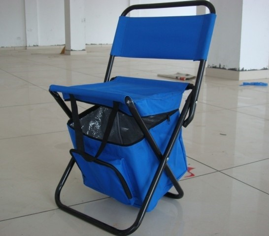 Portable Chair With Cooler Bag Multi Function Outdoor