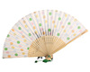 hot hand held mini paper fans wholesale