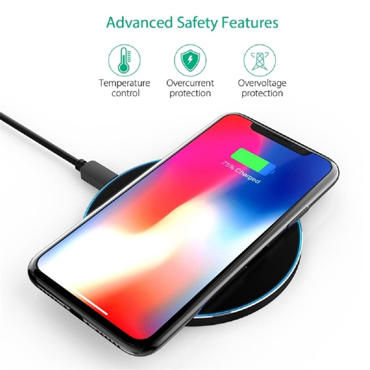 Fast Wireless Portable Charger Mini Cute Powerful Wireless Rapid Charger