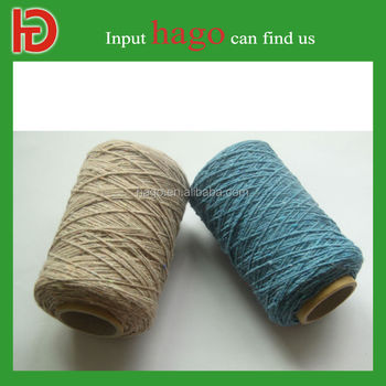 China Supplier Free Sample Recycled Dyed Cotton Bulk Yarn For ...