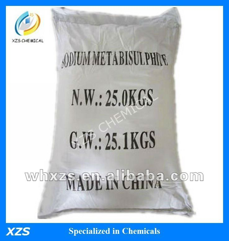 China sodium metabisulfite CAS 7681-57-4 can be added to local anaesthetic