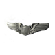 custom metal pilot wings blank metal lapel pin badge