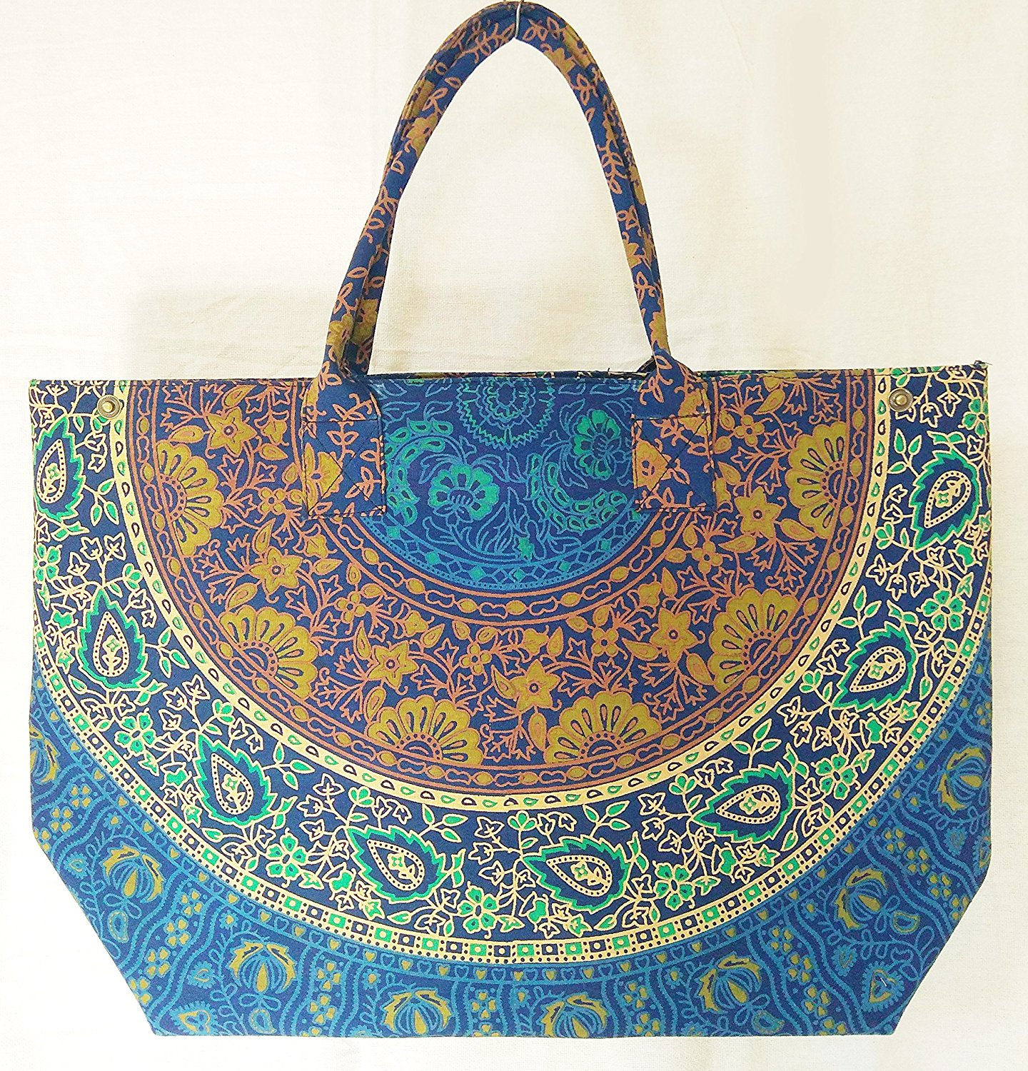 Get Quotations · Indian Hippie Psychedelic Bohemian Tapestry Cotton Mandala  Designer Floral Bags For Women Handmade Boho Hobo Tote 117ae928b5a47