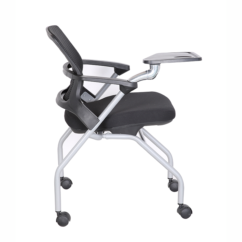 furnitures folding student chair with writing pad student chair for school