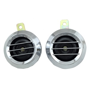 loud sound auto horn speaker 12v motorcycle electric horn automotive disc horn