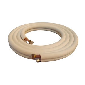 Hot sale single coil insulation 5/8'' copper tube malaysia for air conditioning installation