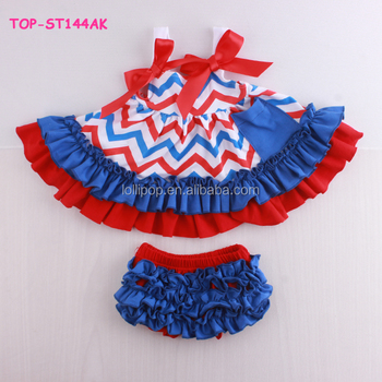 ee962573a709 Independence Day Infant Baby Swing Top Set Match Bloomer Summer Swing Top  Bloomer Outfit