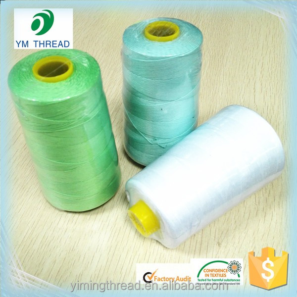 China Factory 100% Polyester Sewing Thread 20/2 20/3