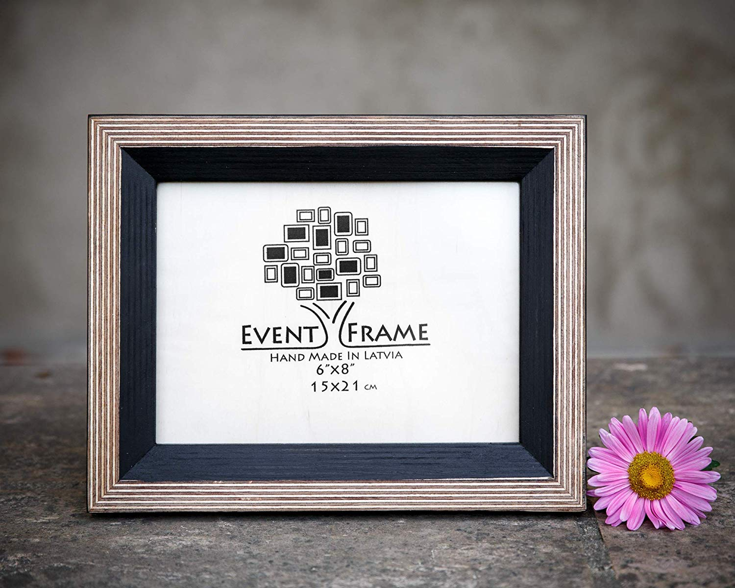 Black Picture Frame, Wood Photo Frame, Rustic frames, CHOOSE SIZES, 4x4 4x6 5x5 5x7 5.5x8.5 6x6 6x8 7x7 7x9 8.5X11 8x8 8x10 10x10 8x12 11X14