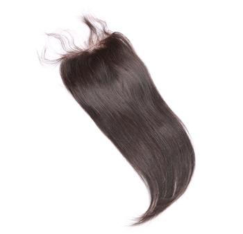 wholesale cheap Cambodian top quality virgin human hair 4*4  closures with stretch silky straight  texture