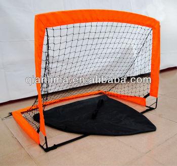 Usa~ Set Goal 4 Foot Kids Portable Soccer Pop Up Net Outdoor ...