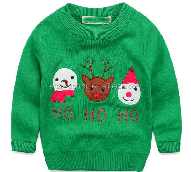 Western Trendy Handmade Baby Cartoon Christmas Sweaters - Buy Baby ...