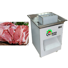 Cut bacon strip Guangzhou factory sales of large machines cut pork meat processing equipment