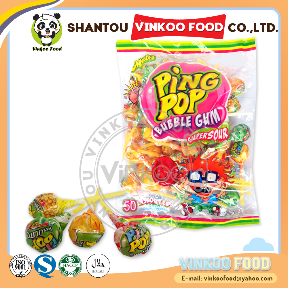 wholesale10g pin pop fruit flavor lollipop sweet