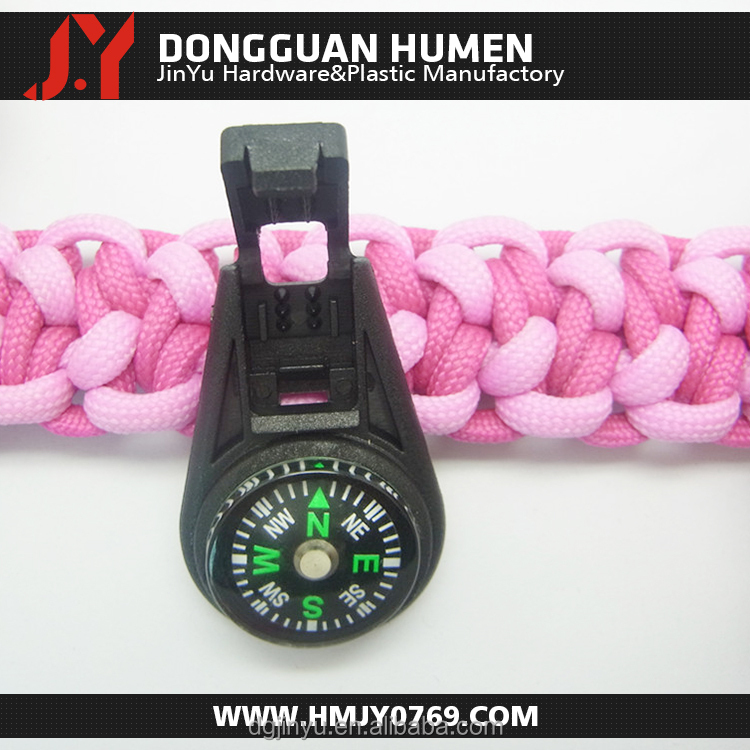 small plastic compass/mini plastic compass/plastic compass with zipper puller