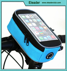 Updated Cycling Bicycle Bike Front Tube Top Tube Smartphone Bag Frame Pannier Phone Holder for iPhone Samsung HTC Nokia LG
