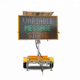 18A 5 Color LED Board VMS Sign Mounted Mobile Traffic Trailer