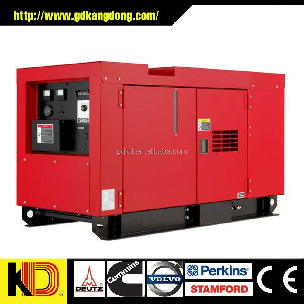 250KVA PORTABLE SILENT DIESEL GENERATOR POWERED BY PERKINS ENGINE