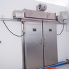 stainless steel electric sliding cold room door
